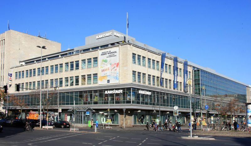 Karstadt am Hermannplatz in Berlin.