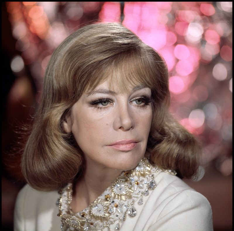"""Hildegard Knef in """"The Lost Continent"""" (1968, R: Michael Carreras)."""