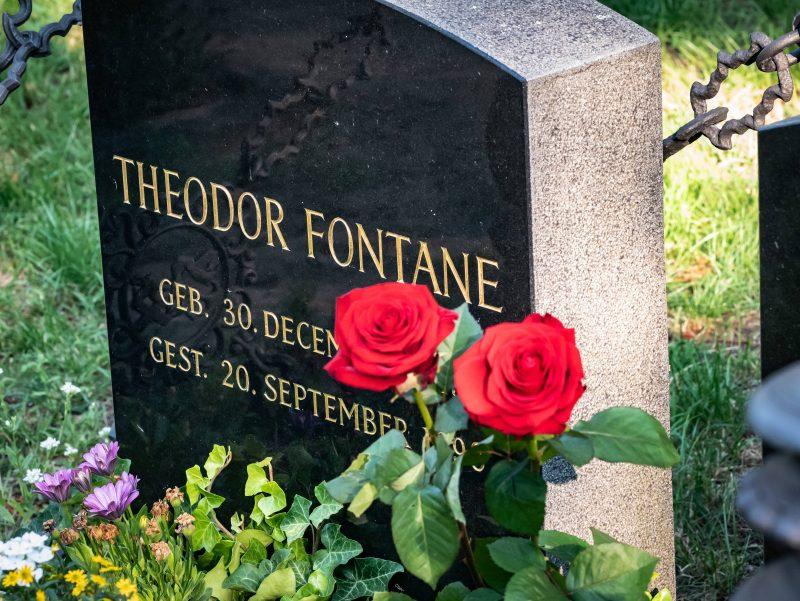 Berühmte Gräber in Berlin: Theodor Fontane