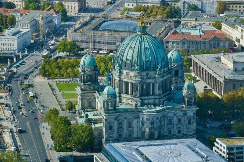 Der Berliner Dom im September 2019