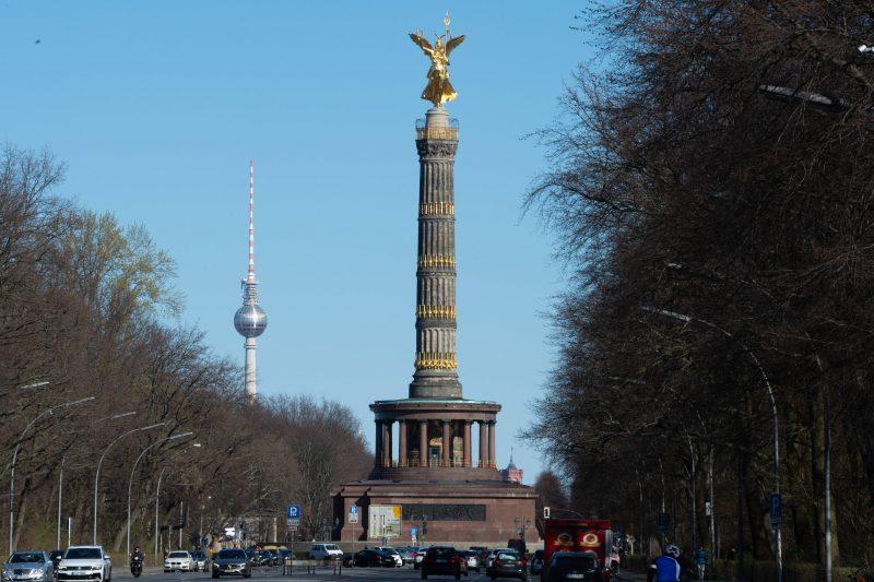 Die Siegessäule in Berlin.