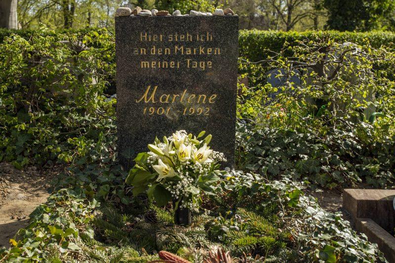 Berühmte Gräber in Berlin: Marlene Dietrich