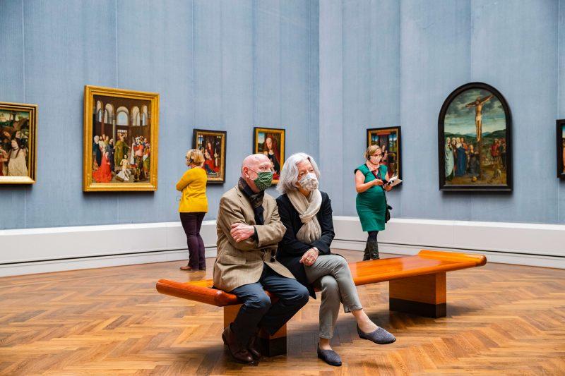 Museumsbesuche müssen minutiös geplant werden, ohne Online-Ticket geht selten etwas. Foto: Imago/Emmanuele Contini