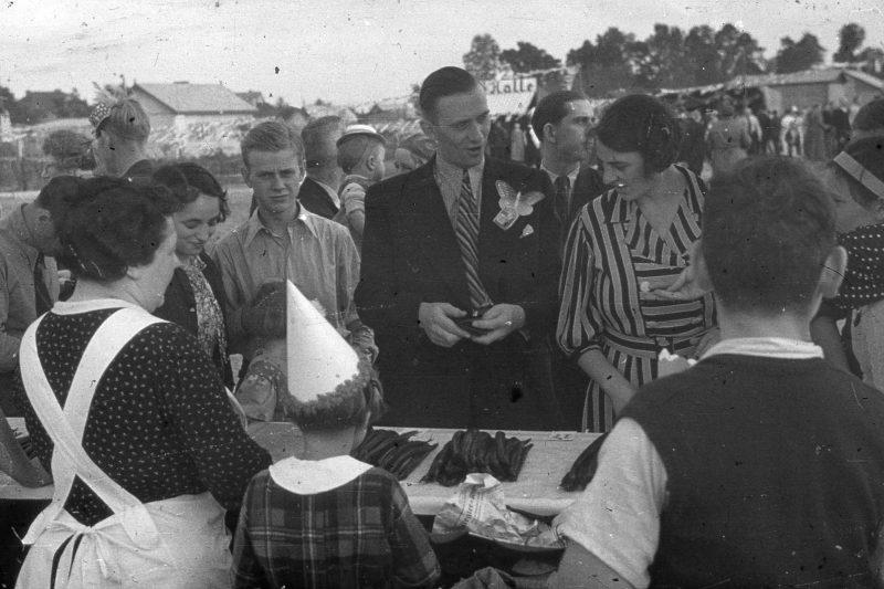 Räucherfisch im Kleingartenverein Neuland-Ost in 1936, kulinarische Zeitreise