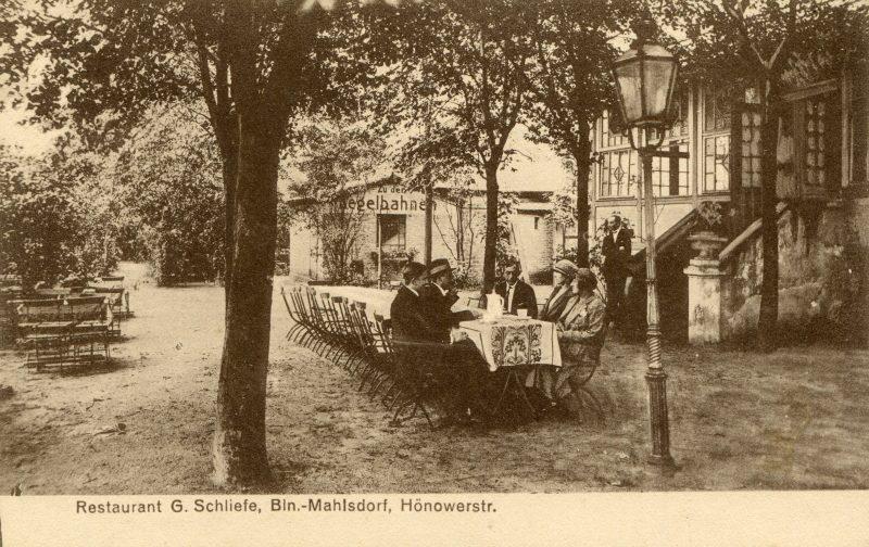 """Restaurant """"Schliefe"""" in Marzahn Hellersdorf in den 1920ern kulinarische Zeitreise"""