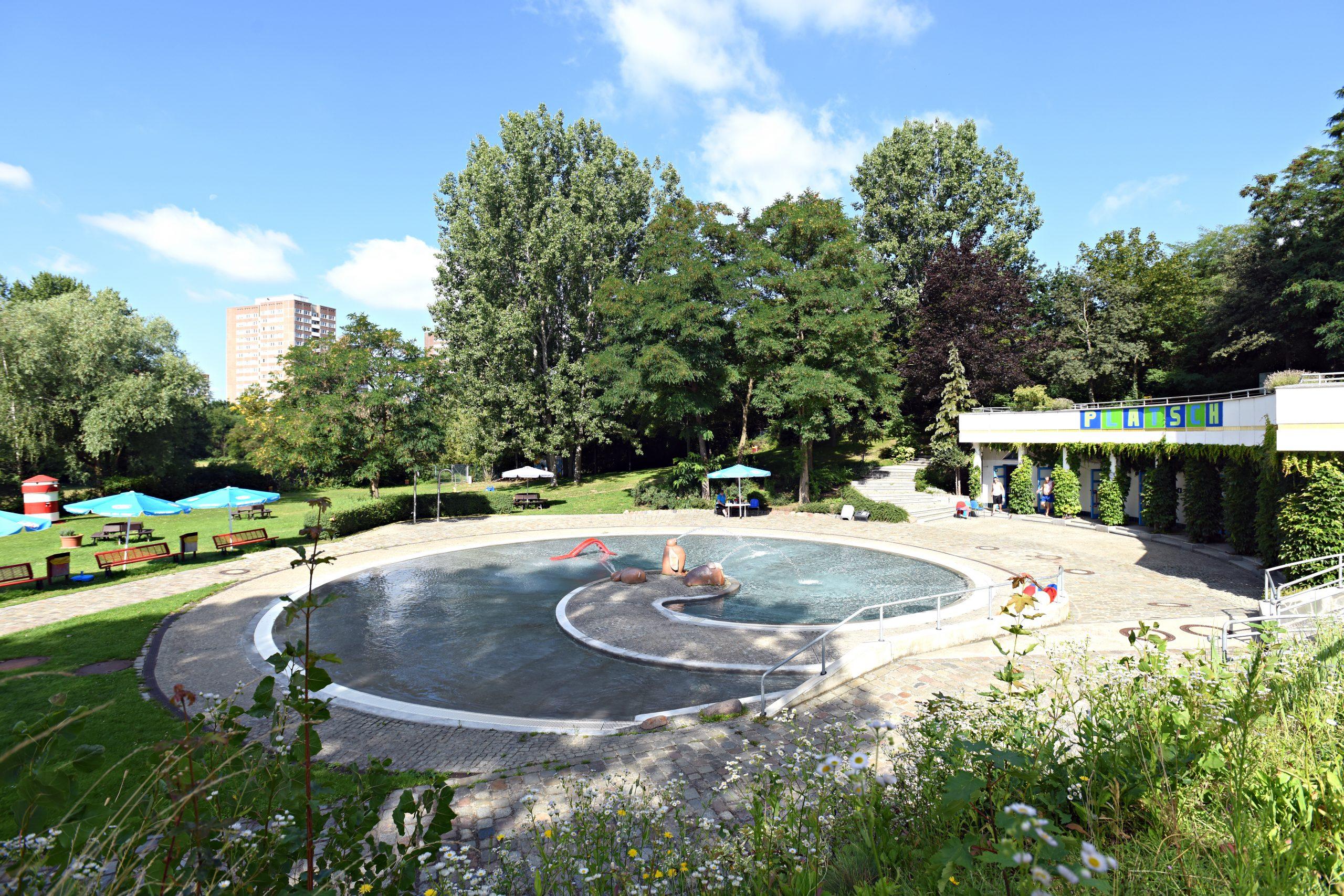 Ein Freibad nur für kleine Berliner*innen: das Platsch. Foto: Berliner Bäderbetriebe