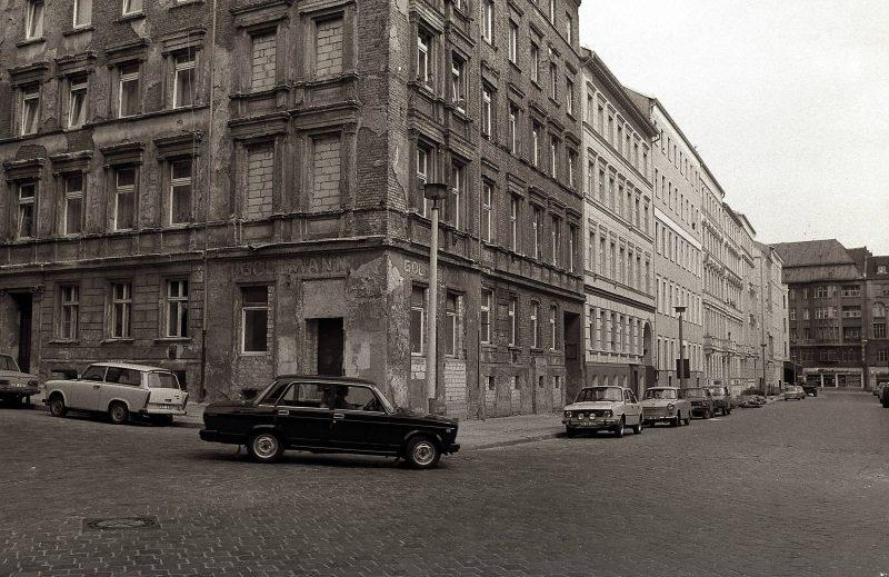 Lottumstraße Ecke Christinenstraße, 1987.