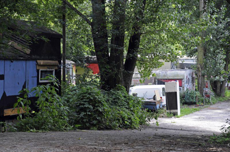 Die Einwohner*innen am Rande des Volkspark Wuhlheide verwaltet ihr Dorf selbst.