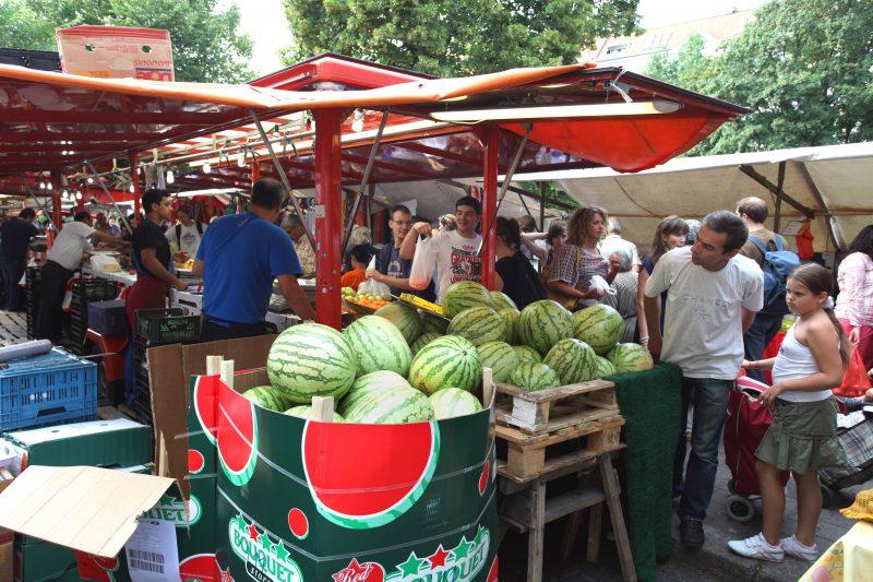 """Der """"Türkenmarkt"""" am Maybachufer ist sicher der authentischste Markt dieser Stadt."""