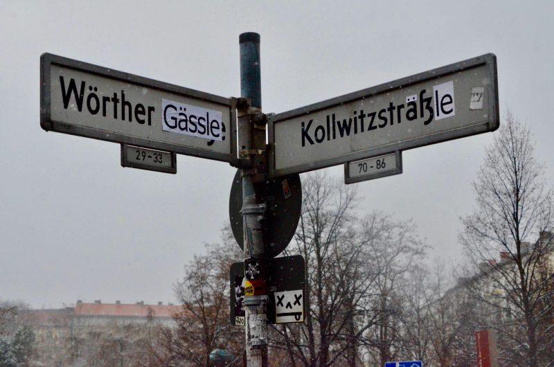 Berlin und die Schwaben – Straßenumbenennung in Prenzlauer Berg.