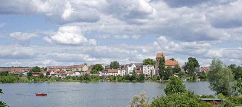 Das Ziel dieser Radtour durch die Uckermark ist die Flößerstadt Lychen. Foto: imago images/imagebroker