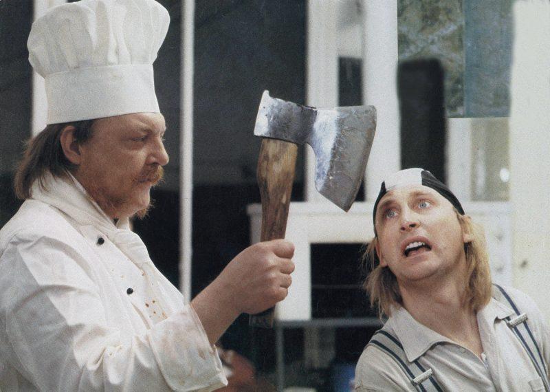 """Filmszene aus """"Otto - Der Film"""" (1985)."""
