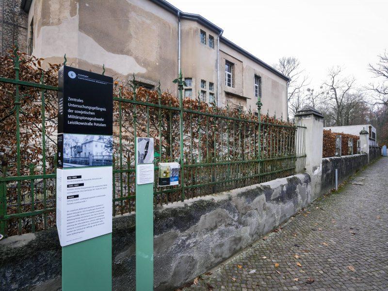 Gedenk- und Begegnungsstätte Leistikowstraße Potsdam.