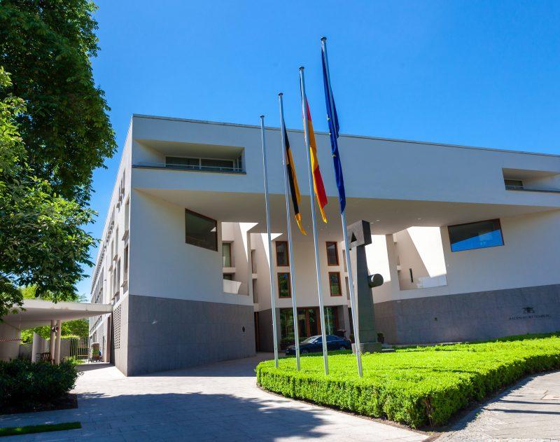 Die Landesvertretung von Baden Würtemberg in Berlin.