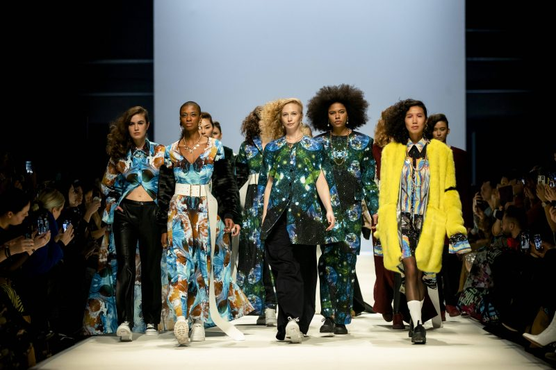 Bye-bye Modestadt? Rebekka Ruetz Fashion Show während der Berlin Fashion Week im Kraftwek in Berlin am 15. Januar 2020. Foto: imago images/Emmanuele Contini