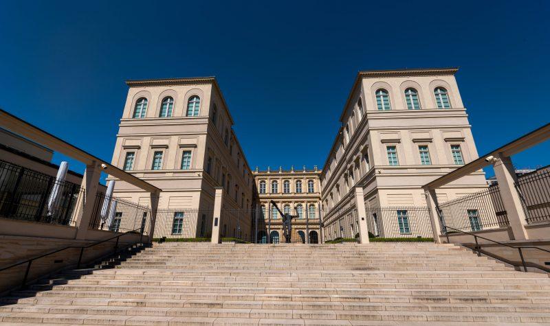 Innenhof des Museums Barberini, Potsdam