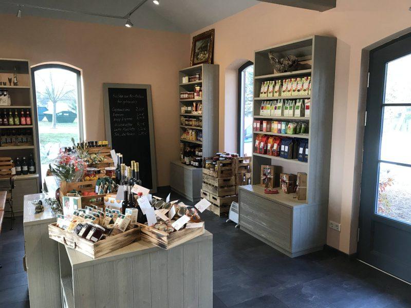 Der liebevoll eingerichtet Verkaufsraum des Ladens. Foto: Regionalladen Flieth