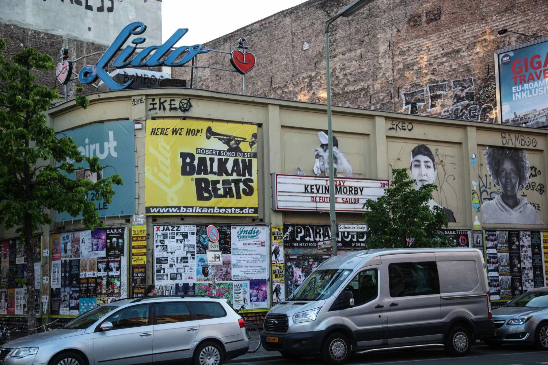 Das Lido ist eine legendäre Konzert-Location in Kreuzberg.
