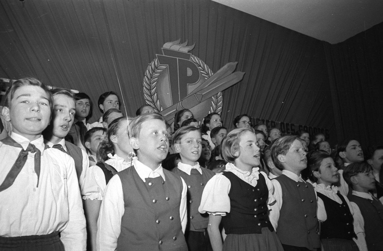 Gemischter Chor Junger Pioniere, 1962.