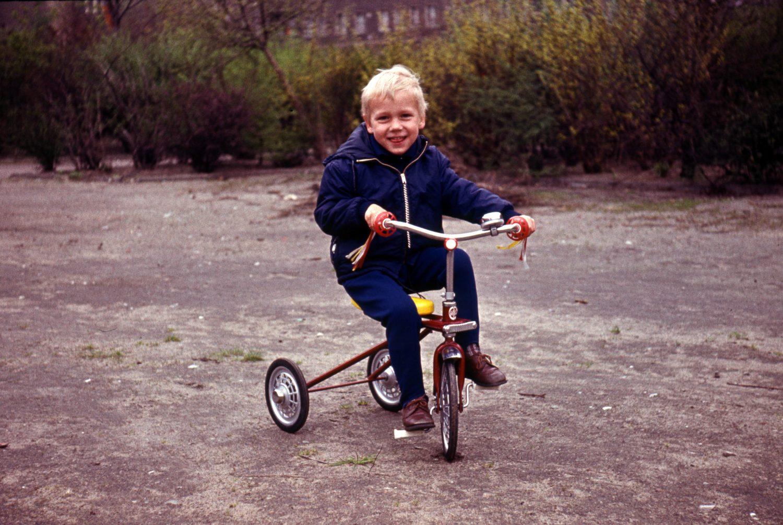 Kindheit in Ost-Berlin, 1972.