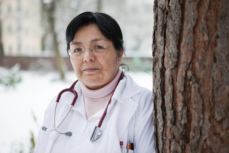Jenny De la Torre ist Ärztin für Obdachlose im Gesundheitszentrum Mitte in Berlin.