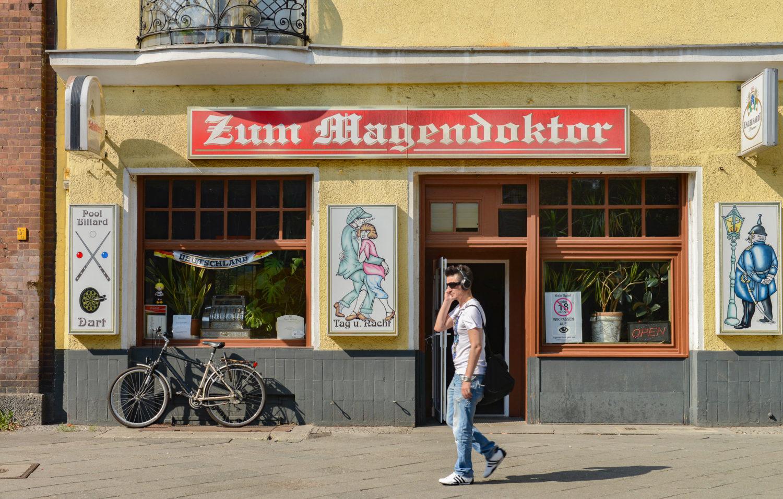 Kneipe Berlin Der Magendoktor in Wedding bietet noch echten Kiezcharme.