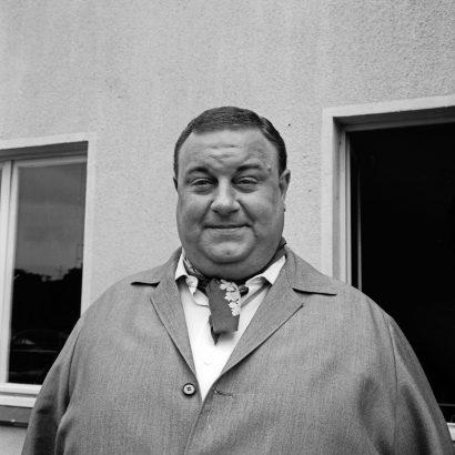 Der Sänger, Komponist und Schauspieler Jean Thome als Brubbelkopp.
