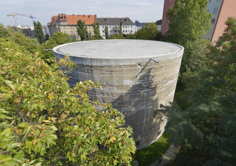Beton und Brutalismus in Berlin: Schwerbelastungskörper in Tempelhof.