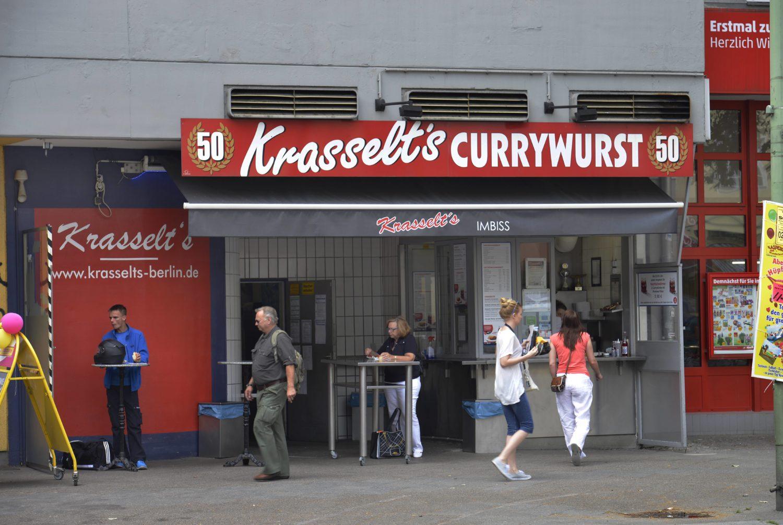 Krasselt's Currywurst.