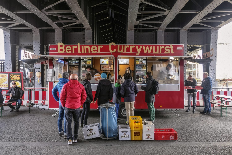 Currywurst in Berlin: Berliner Currywurst.