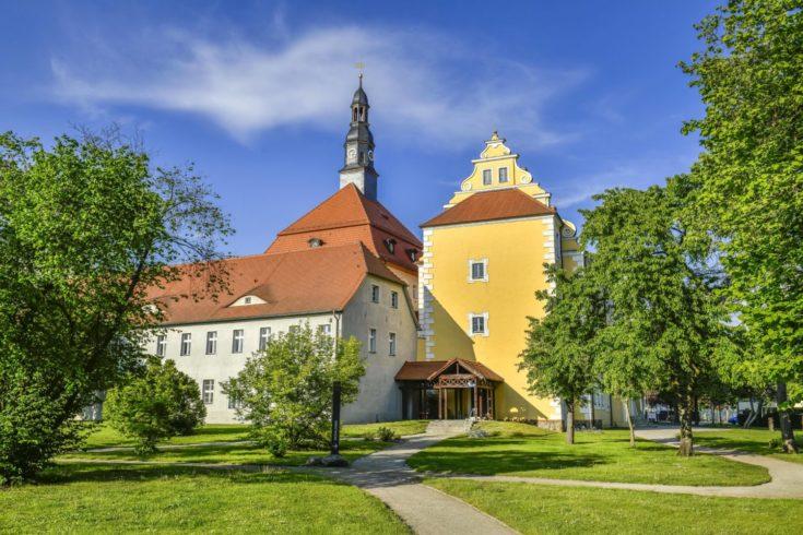 Das Schloss Lübben am Startpunkt dieser Wandertour. Foto: imago images/Schöning