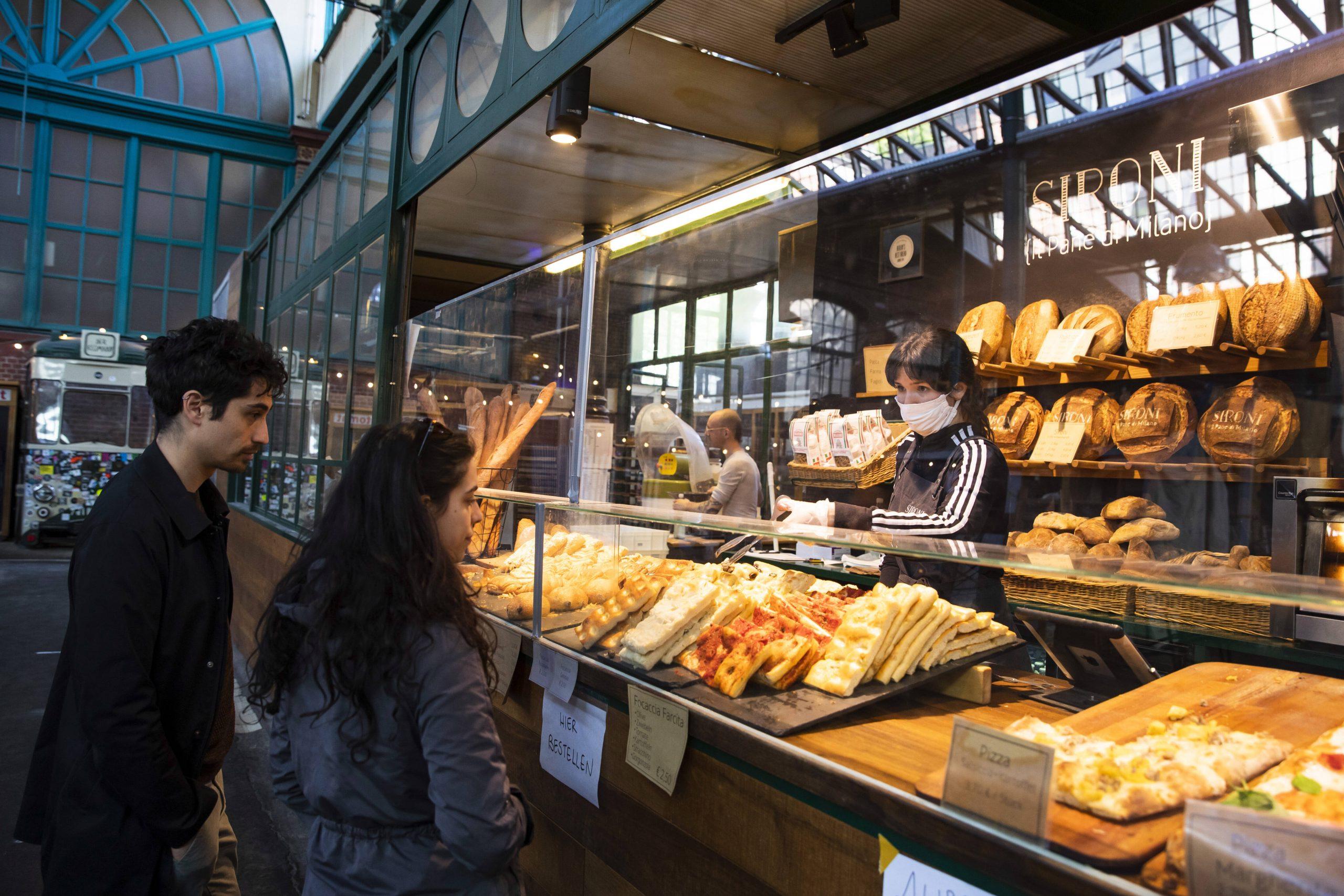 Nicht nur Pizza und Brot: bei Sironi werden Croissants auf italienisch gebacken in Berlin