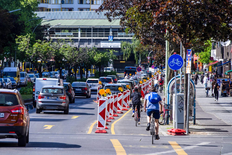 12 Dinge, die wir in der Corona-Krise verstanden haben: 24 Kilometer neue Radwege sind in Berlin seit Beginn der Corona-Krise entstanden.