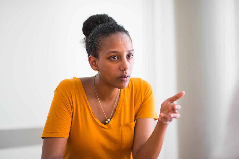 Bafta Sarbo gehört zum Vorstand der Initiative Schwarze Menschen in Deutschland.