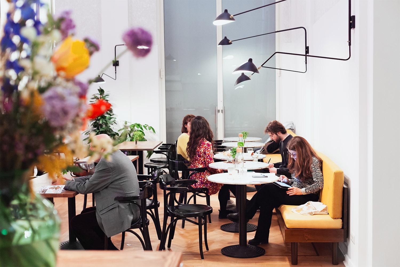 Salat im Museum in Berlin bei Beba