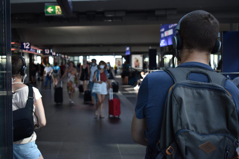 """""""Remote Mitte"""" verwandelt den Hauptbahnhof in eine Bühne."""