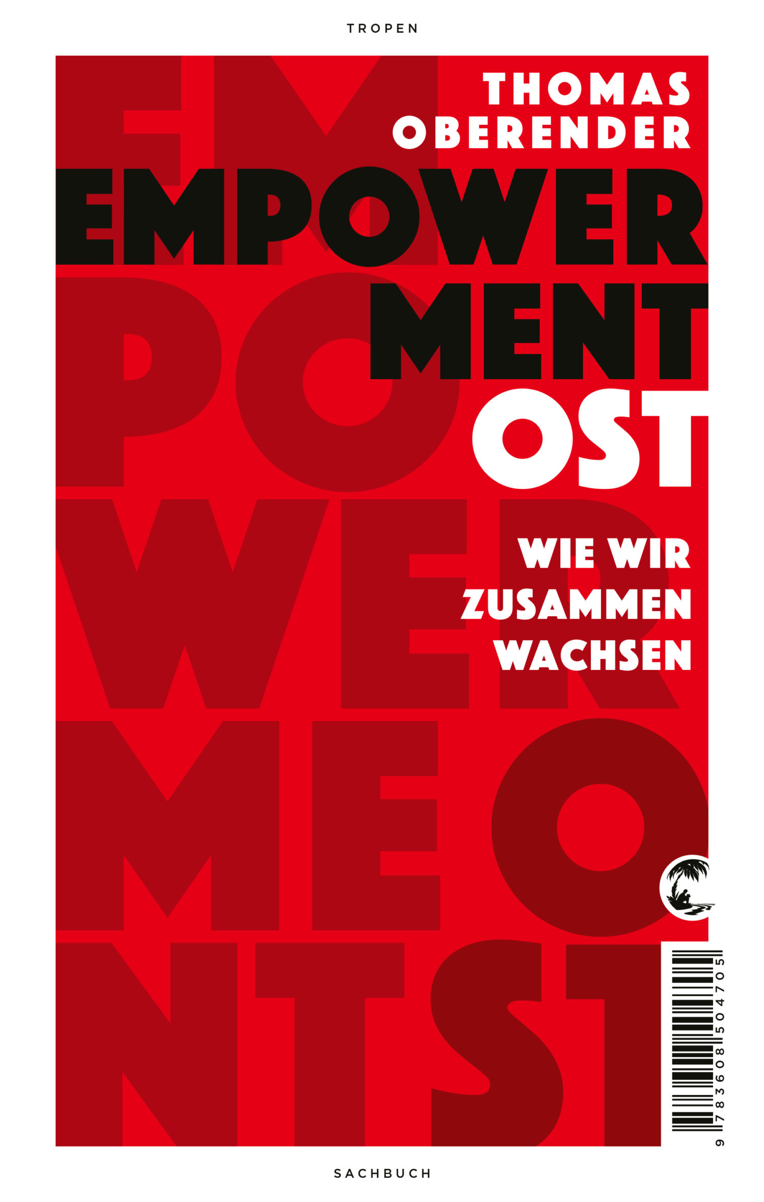 "Cover ""Empowerment Ost"" von Thomas Oberender. Foto: Klett-Cotta"