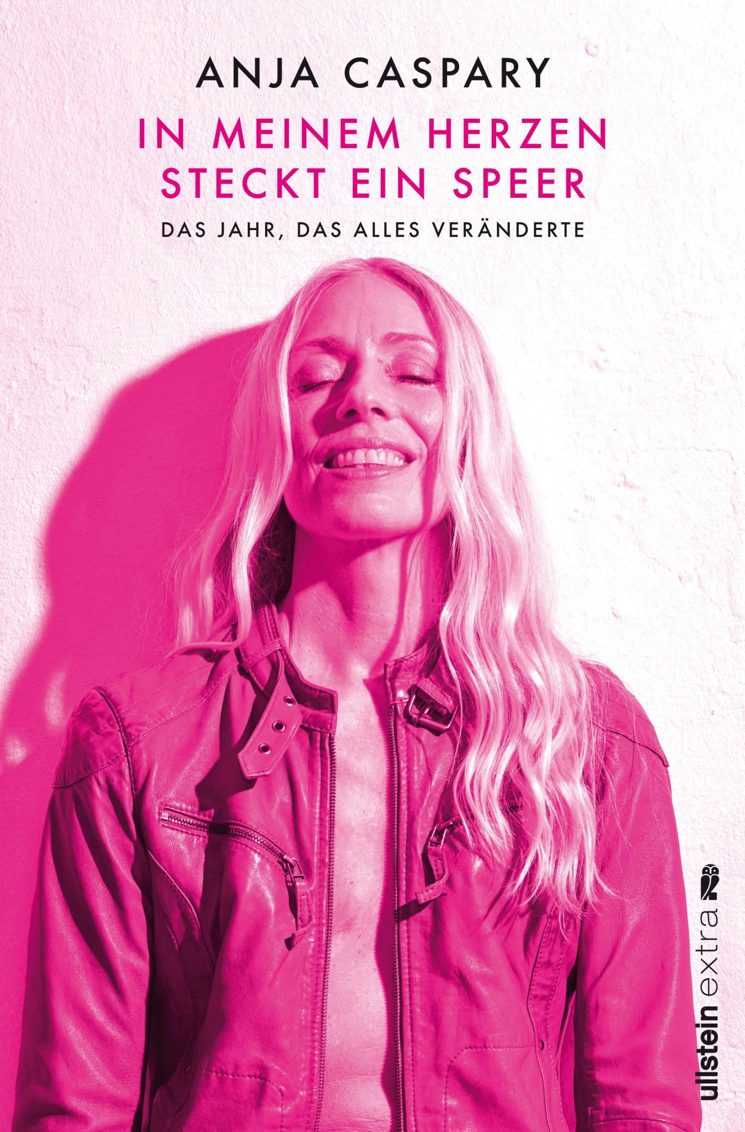 """Cover Anja Caspary, """"In meinem Herzen steckt ein Speer."""
