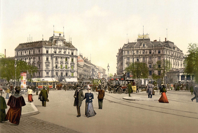 Potsdamer Platz um 1900. Foto: Imago/Leemage