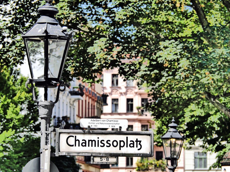 Der Chamissoplatz in Kreuzberg 61. Foto: Imago/Jürgen Ritter