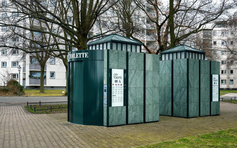 City Toiletten in Britz. Foto: Imago/Eibner