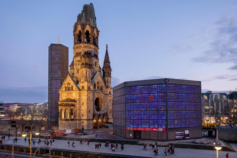 Die Kaiser-Wilhelm-Gedächtniskirche ist eines der wichtigsten Wahrzeichen der Stadt. Foto: imagoimages/epd