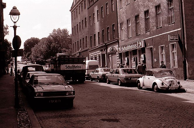 Kreuzberg in den 1980er-Jahren: Die Methfesselstraße, 1981. Foto: Willy Pragher/Landesarchiv Baden-Württemberg/CC BY 3.0 DE