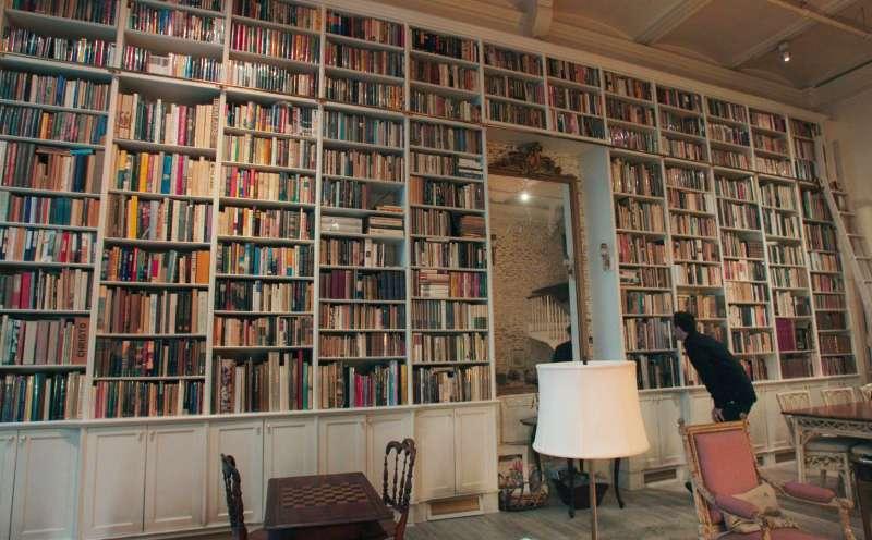 """Große Leidenschaft für Literatur: """"Booksellers"""" vom D.W. Young. Foto: Mindjazz"""