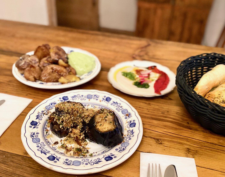 veganes comfort food israelisch bei cafe pilz