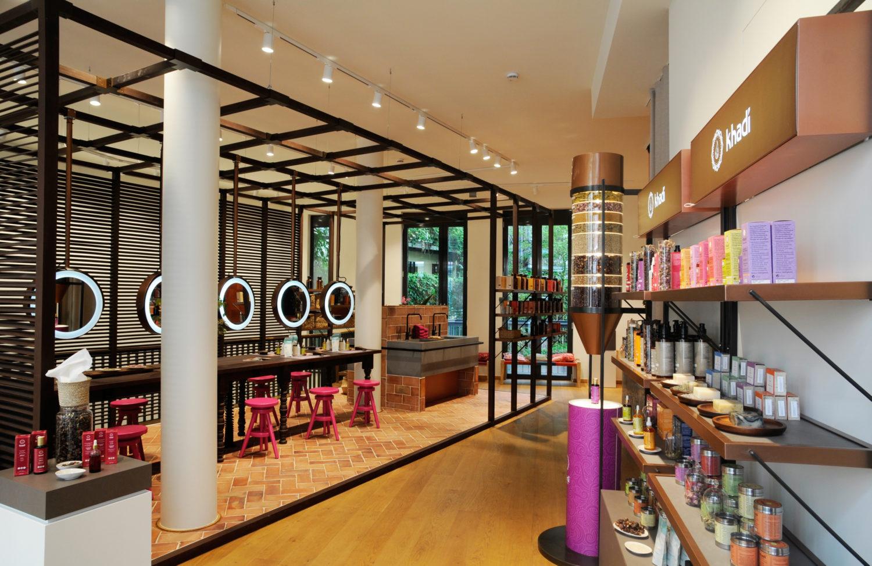 Naturkosmetik Im Berliner Laden von khadi kann man die natürlichen Haarfarben sogar vor Ort ausprobieren.