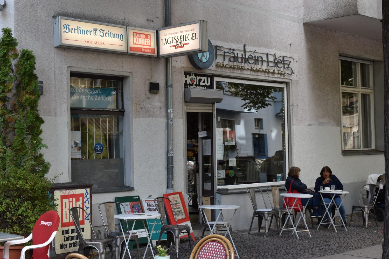 Der Kiosk und Bäckerei Fräulein Lietz am Lietzensee.