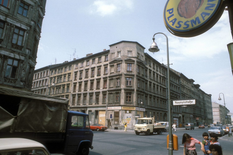 Naunynstraße, Straßenszene um 1985. Foto: Imago/Sven