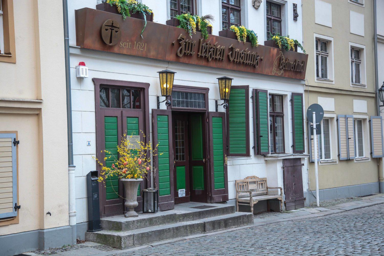 Alte Berliner Kneipen: Zur letzten Instanz. Die älteste Kneipe Berlins. Foto: Imago/Rolf Kremming