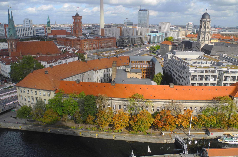 Der Alte-Münze-Komplex am Molkenmarkt unweit des Roten Rathauses. Foto: Imago Images/Pemax